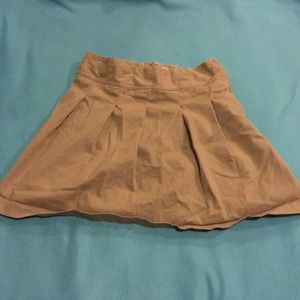 Children's place khaki skirt!
